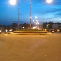 Carrefour Yelwa-By night_route de Yelwa a Garoua