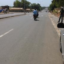 De l entre CNPS - vers le carrefour yelwa