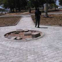 Place des lions-espace amenage_route de Yelwa a Garoua